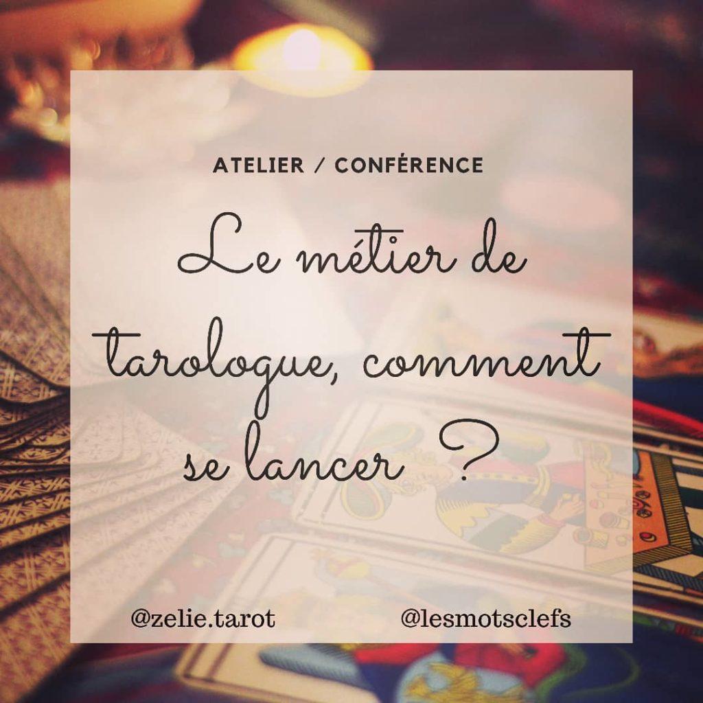 Le métier de Tarologue : Comment se lancer ?  Paris le 6 décembre 2019